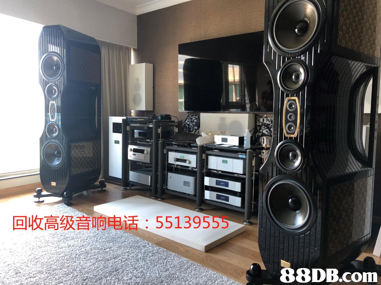 回收高级音响电话: 55139555 .   Loudspeaker,Subwoofer,Audio equipment,Electronics,Room