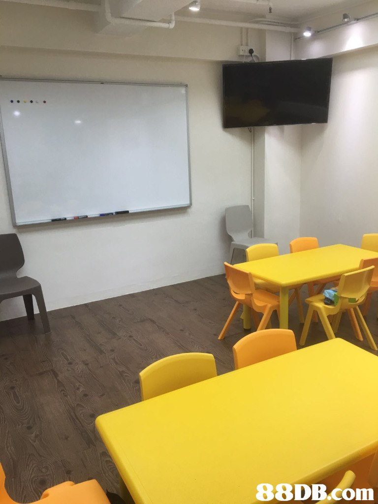 Room,Classroom,Yellow,Interior design,Floor