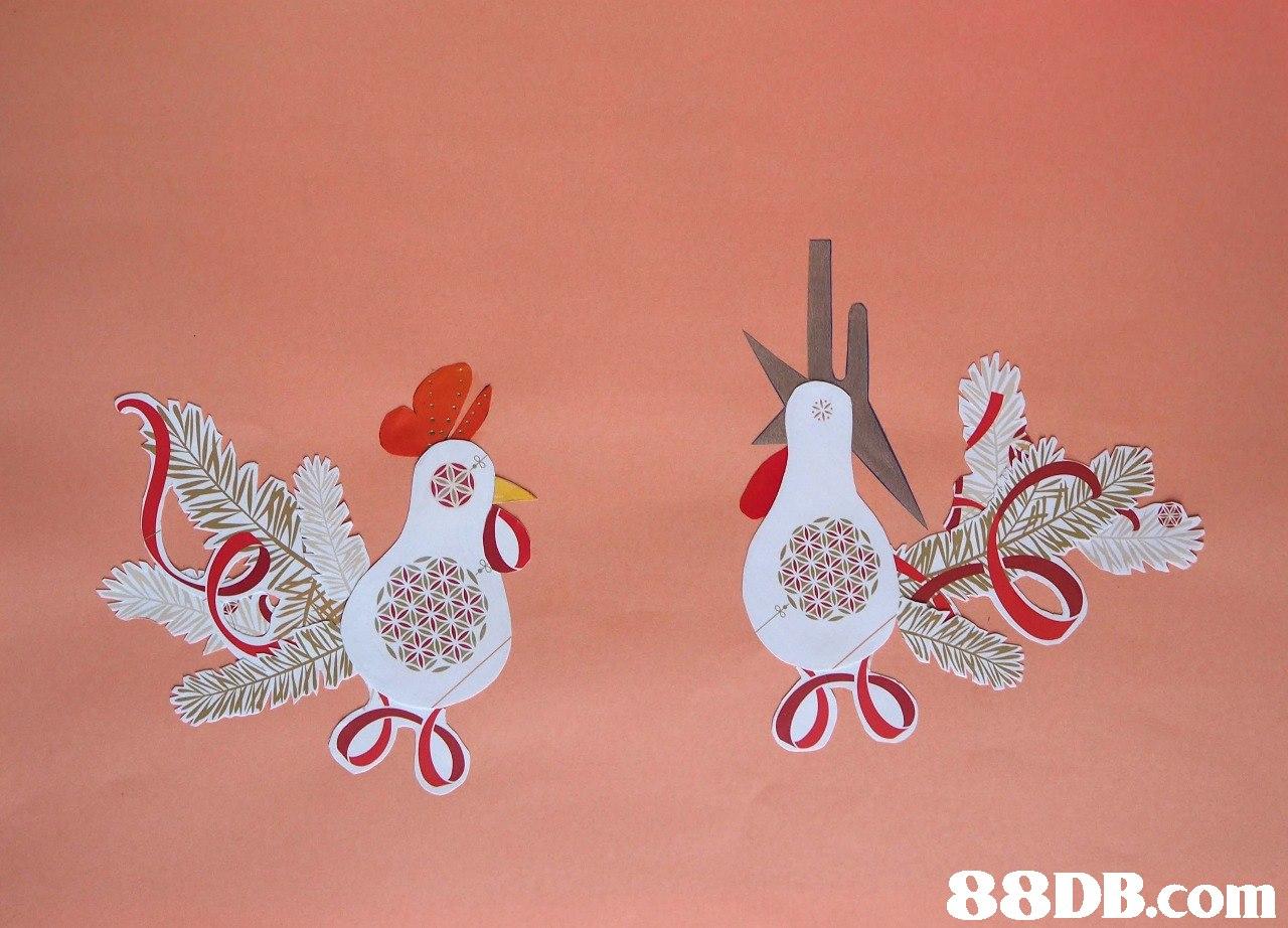 Ornament,Chicken,Bird,Illustration,