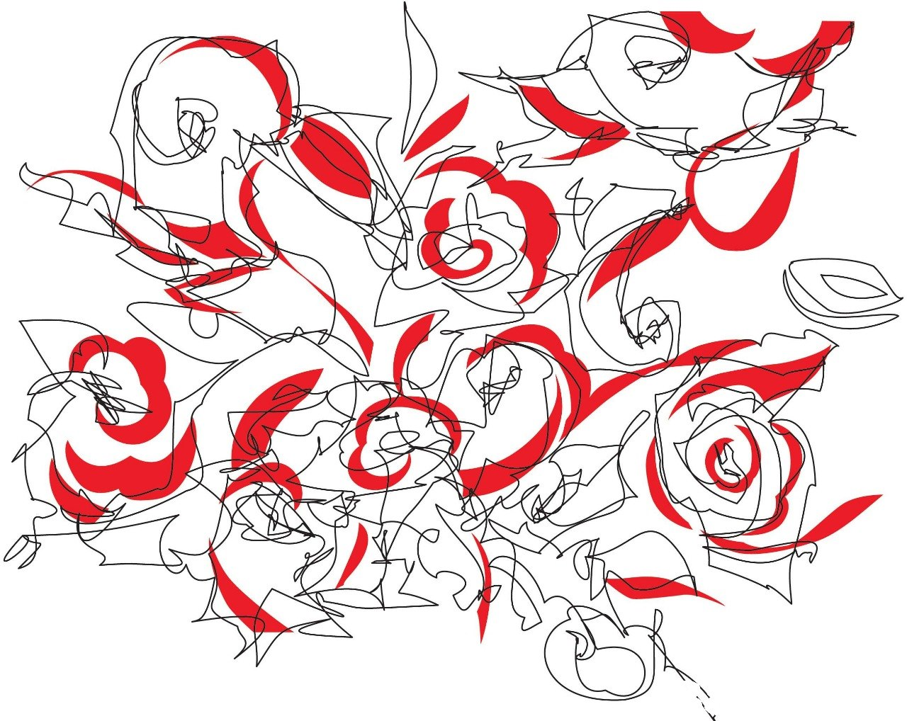 Line art,Red,Text,Drawing,Design