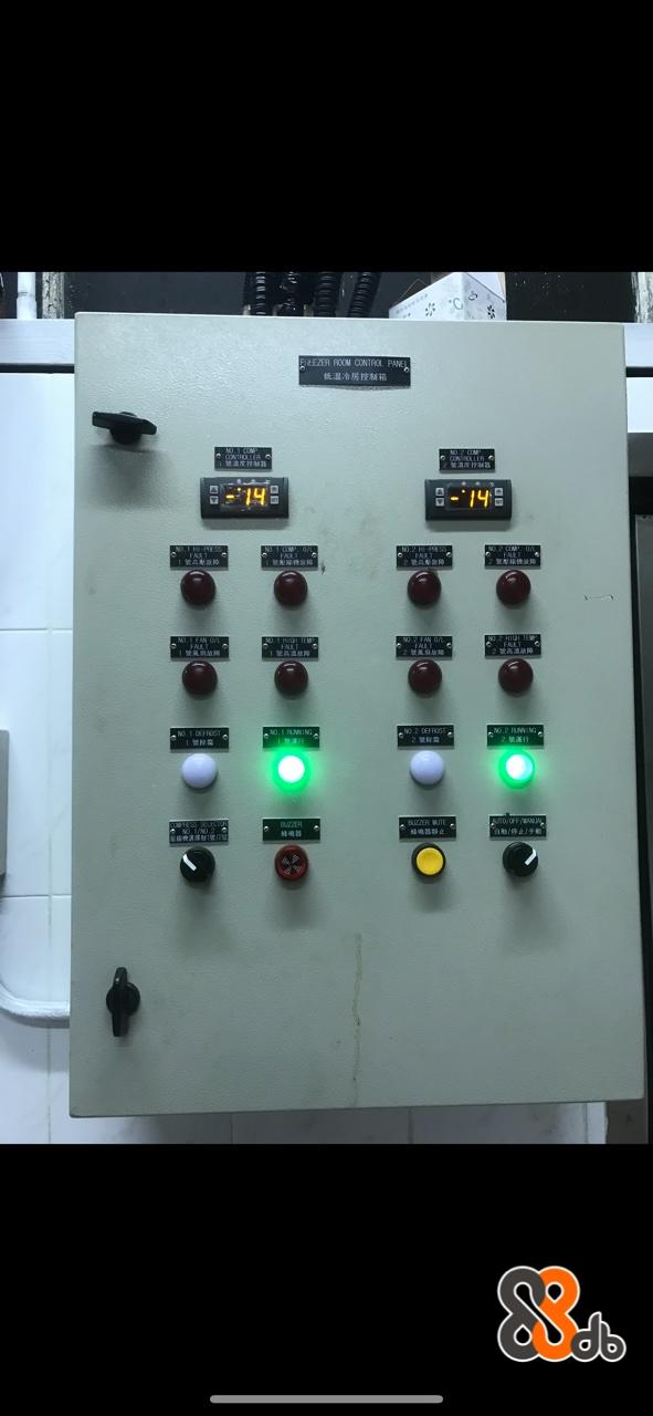EZER ROOM CONTROL PANE 低温冷房控制箱  Machine,Control panel