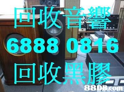 回收音響 6888 0816 回收黑膠  Font,Text,Room,