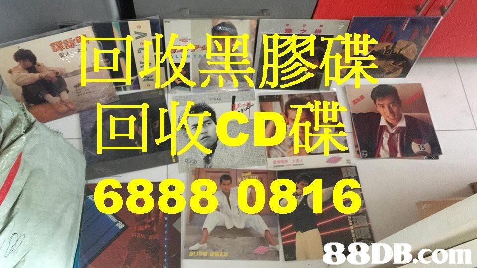 回收黑膠碟 回收CD碟 6888 0816 88DB.co  Font,