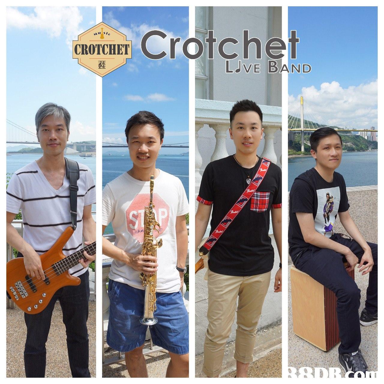 arar Crotchet CROTCIIET LVE DAND HAM  Musical instrument,Poster,