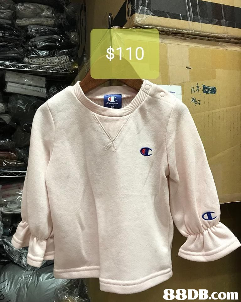 $110   Clothing,White,Sleeve,T-shirt,Outerwear