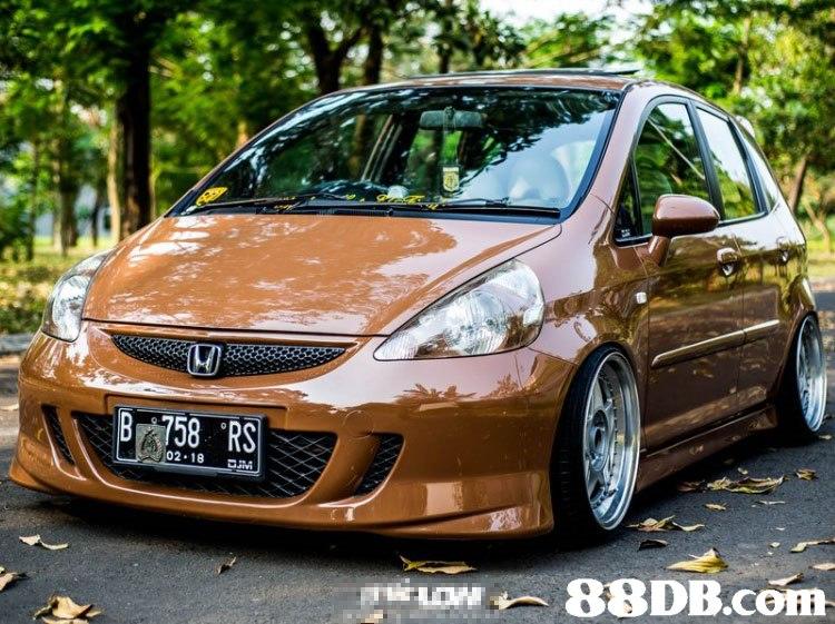 """B 758 """"RS 02.18 KAM.レー  Land vehicle,Vehicle,Car,Honda,Honda fit"""