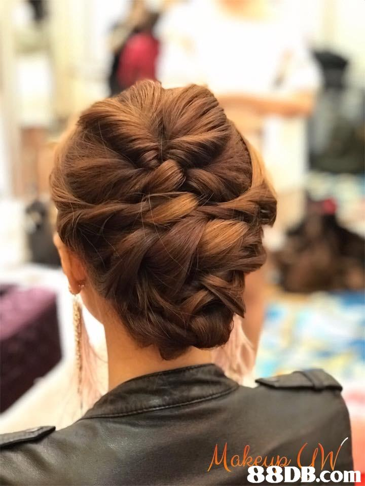 Hair,Hairstyle,Chignon,Beauty,Bun