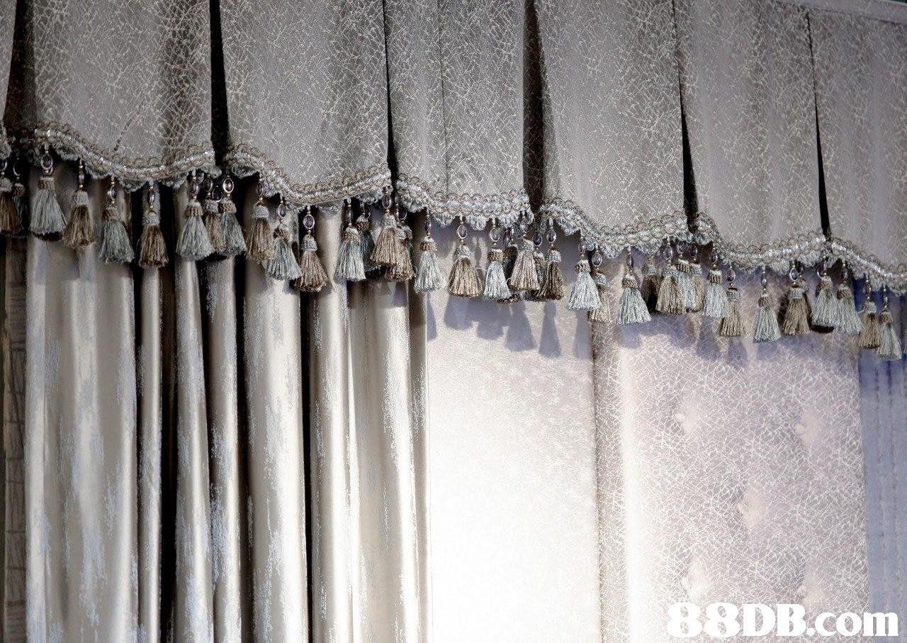 SDB.com  Curtain,Window treatment,Textile,Interior design,Beige