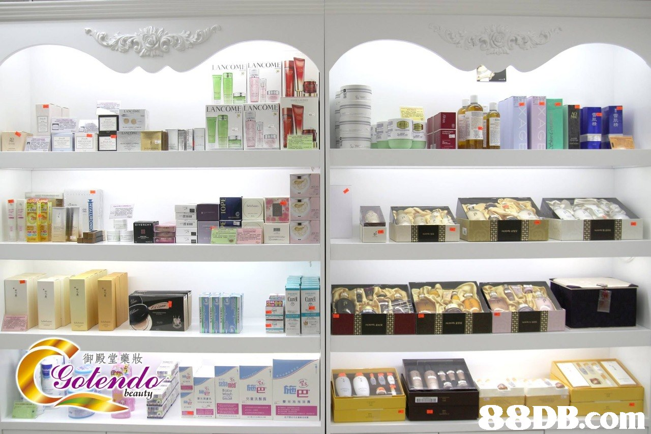 LANCOMELANCOMI COME LANCOMI 御殿堂藥妝 beauty 兄童洗酸霧 P.com  Shelf,Shelving,Product,Furniture,Beauty