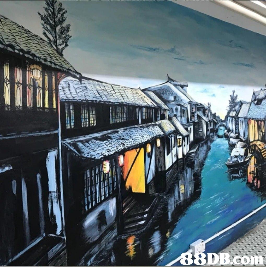 Art,Architecture,Mural,Building,