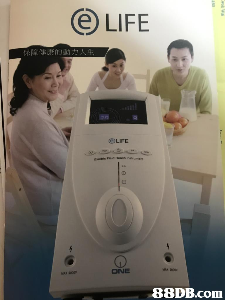 LIFE 保障健康的動力人生 () LIFE Electric Field Health Instrument 山 MAX 9000V ONE MAX 9000V   Electronics,Technology,Electronic device,