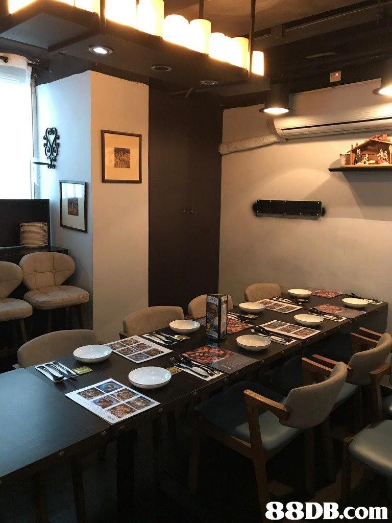 Restaurant,Room,Interior design,Table,Building