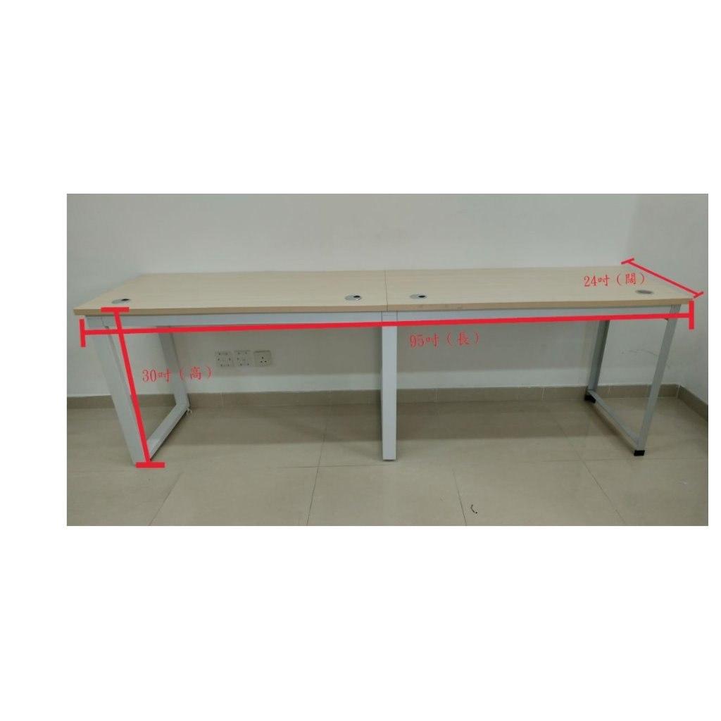 24吋(M)  Furniture,Table,Desk,Rectangle,Workbench