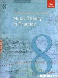 ABRSM Music Theory in Practice   Text,Font