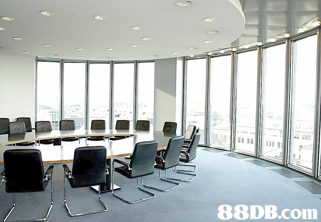 Building,Conference hall,Office,Office chair,Room