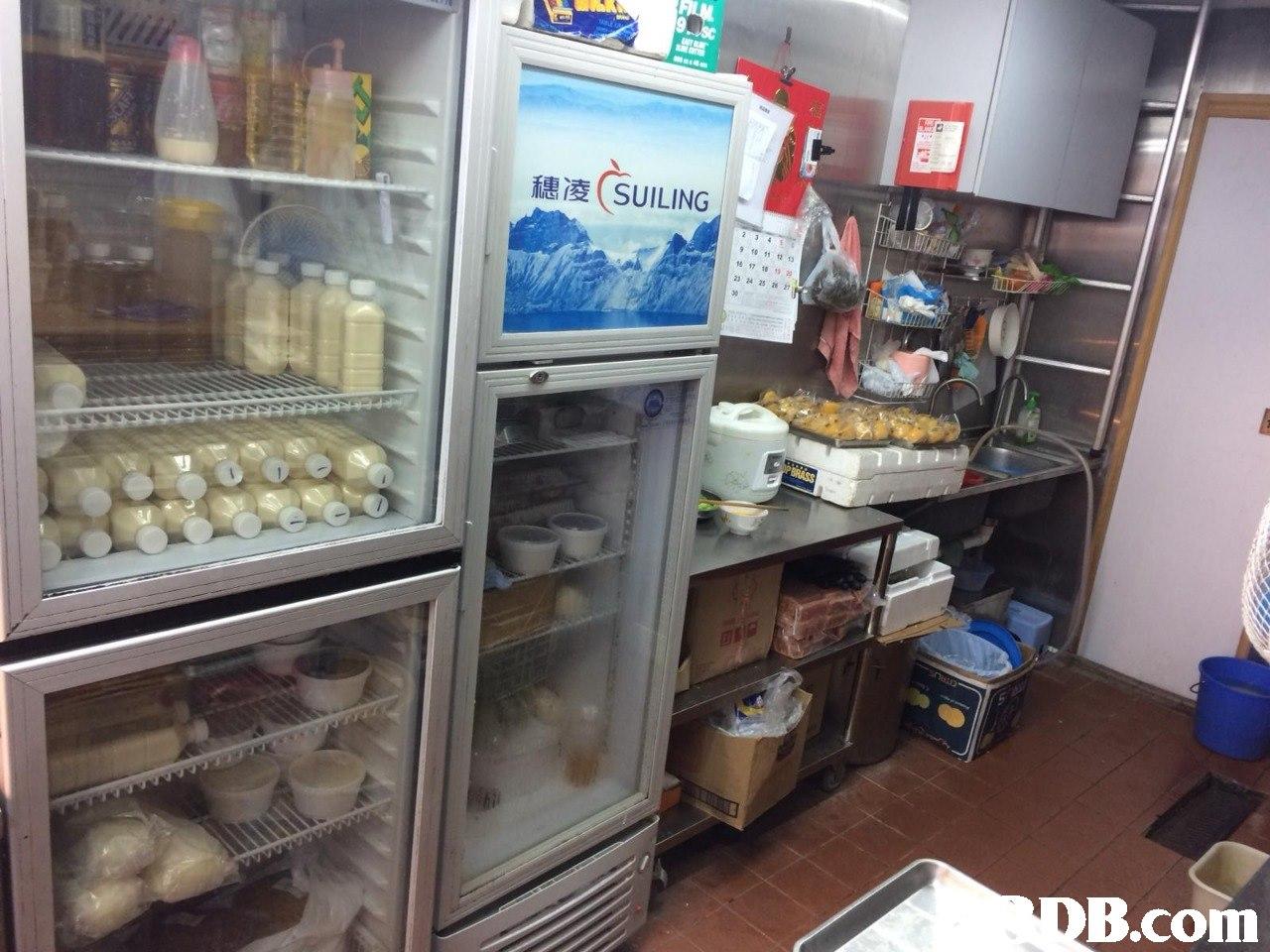 穗凌( SUILING . 17181929 232425 27 30 B.com  Refrigerator,Frozen food,Kitchen appliance,Bakery,