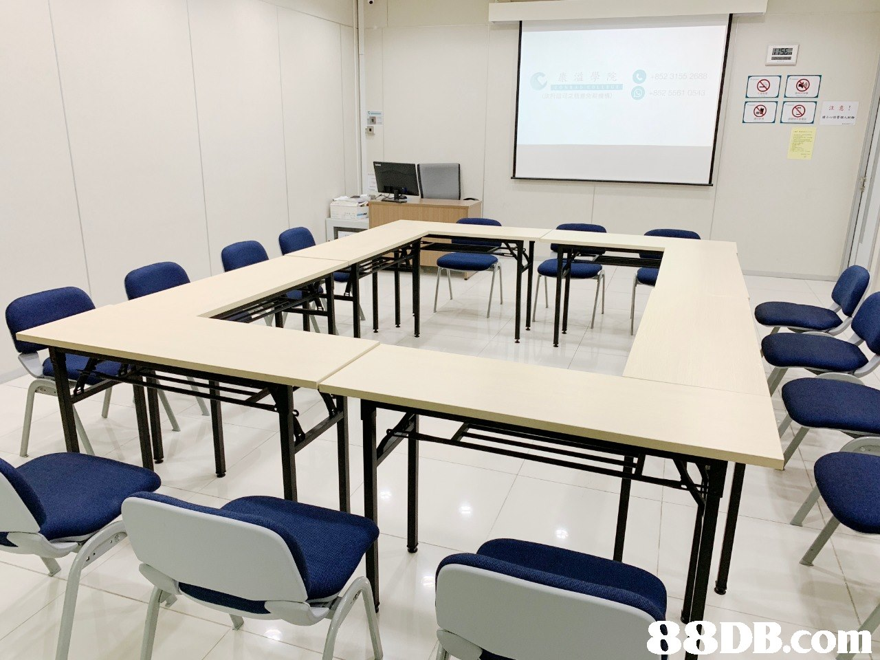 注意   Classroom,Room,Table,Furniture,Conference hall