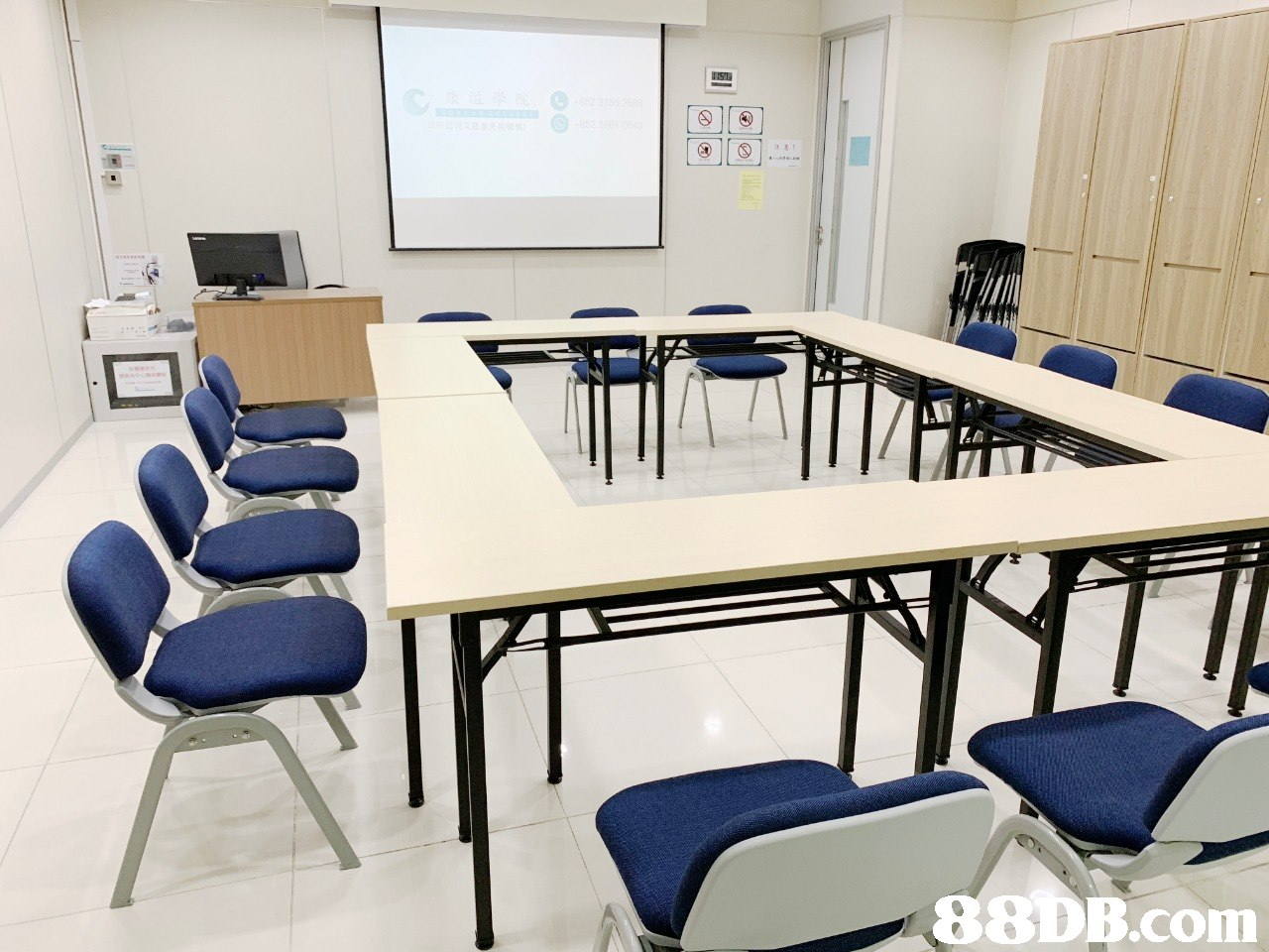 Room,Furniture,Conference hall,Table,Classroom