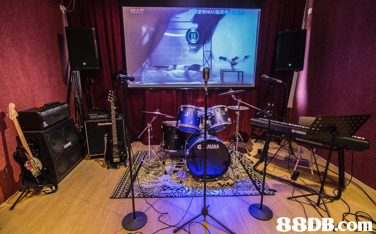 NIAO 歡迎使用NIA0點歌機(PET, YAMAHA   Drums,Drum,Stage,Recording studio,Musical instrument