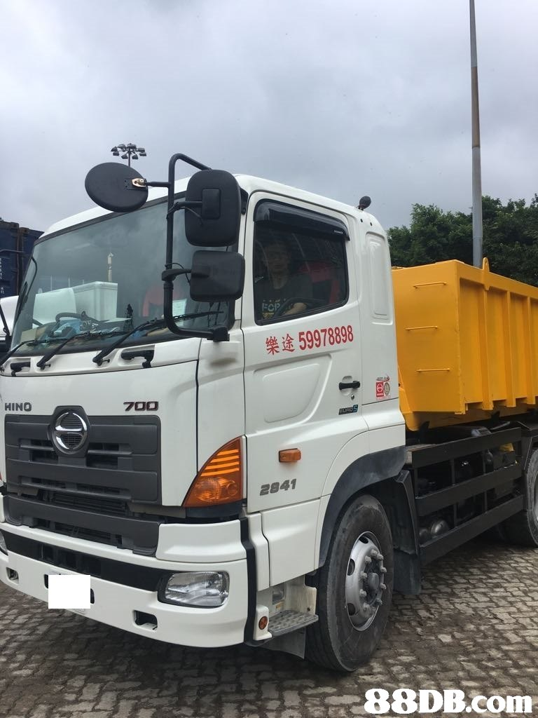 FOP 樂途59978898 HINO 700 2841 88DB.COm  Land vehicle,Vehicle,Transport,Commercial vehicle,Truck