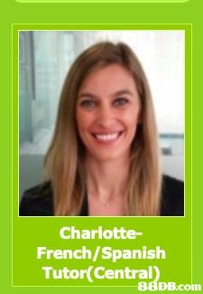 Charlotte- French/Spanish Tutor(Central   Hair,Text,Smile,Photo caption,Photography