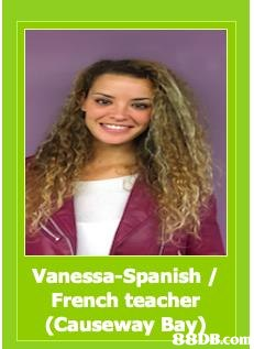 Vanessa-Spanish / French teacher (Causeway BabB.com  Hair,Hairstyle,Hair coloring,Long hair,Brown hair