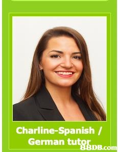 Charline-Spanish / German tut8BDB.co In  Hair,Face,Skin,Chin,Smile