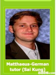 Matthaeus-German tutor (Sai Kun 880B.com B.com