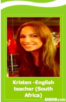Kristen -English teacher (South Africa)   Hair,Hair coloring,Brown hair,