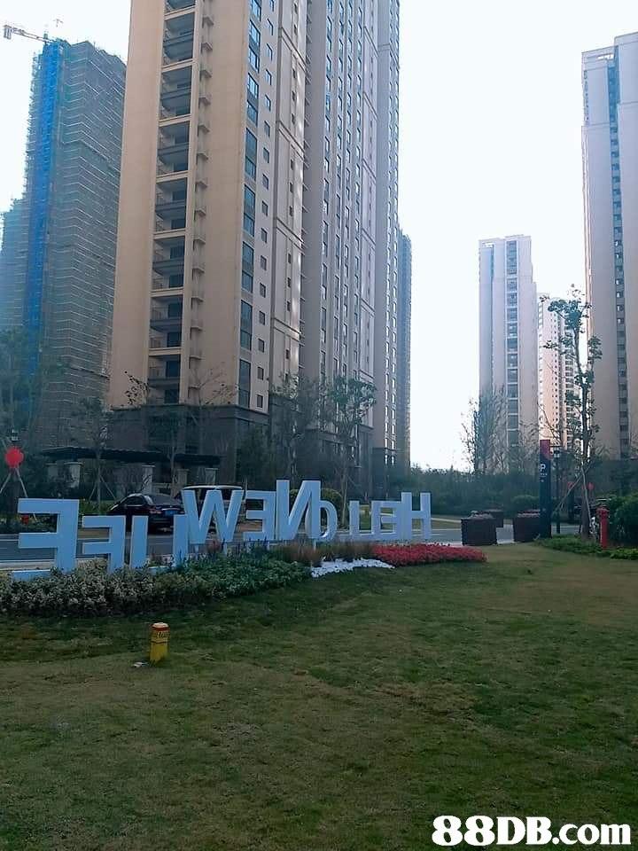 Metropolitan area,Condominium,Tower block,City,Skyscraper