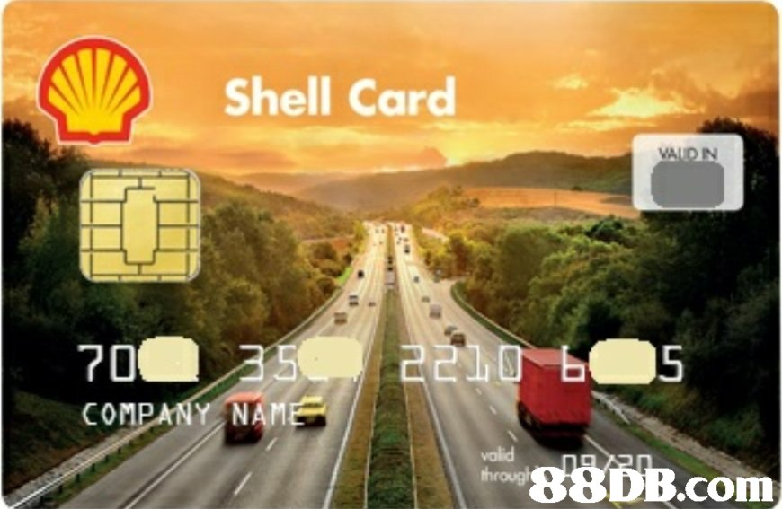 Shell Card VALD IN COMP NAM DB.com  Road,Transport,Highway,Mode of transport,Freeway