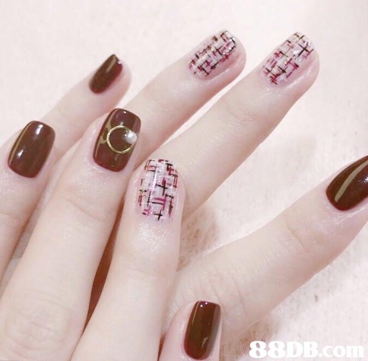 88DB  Nail,Nail polish,Manicure,Nail care,Finger