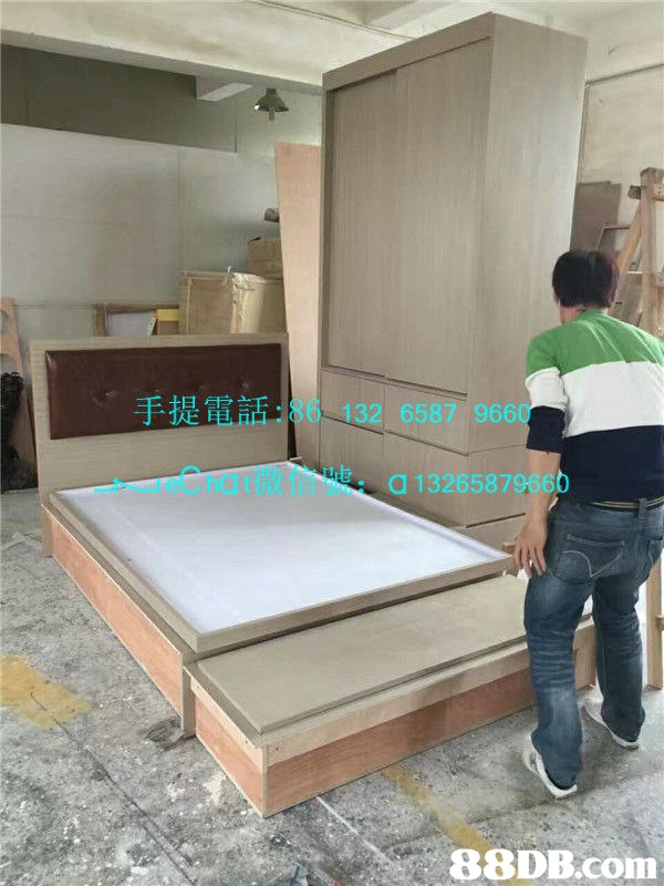 手提電話:86 132 6587 966 0 .rueChat微信號: a 1326587 9660   Bed,Furniture,Mattress,Room,Property