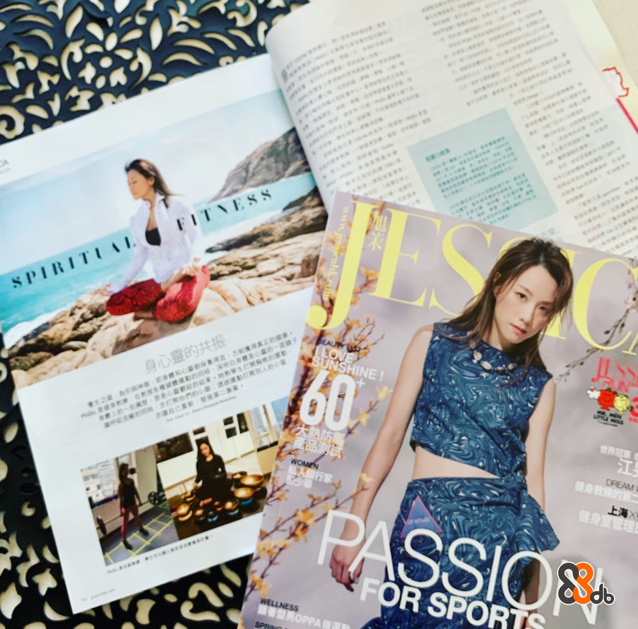 FITNESS 身心靈的共振 NSHINE OR SPORTS  Magazine,Fashion,Design,Pattern,Pattern