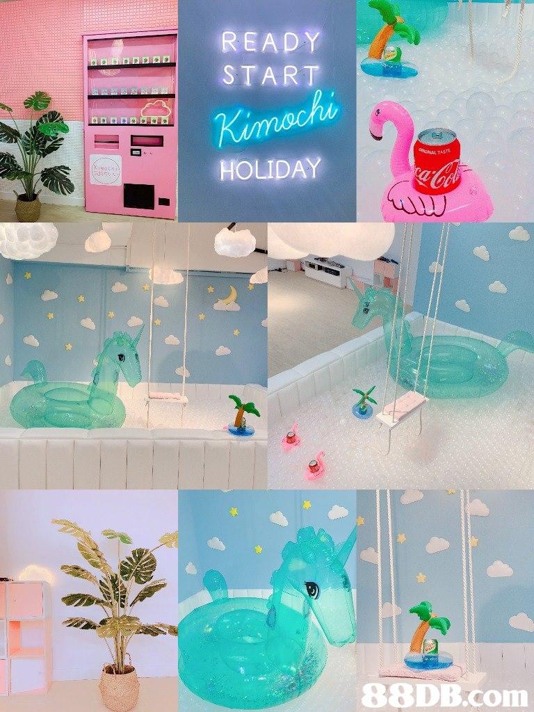 READY START HOLIDAY   Turquoise,Product,Aqua,Room,
