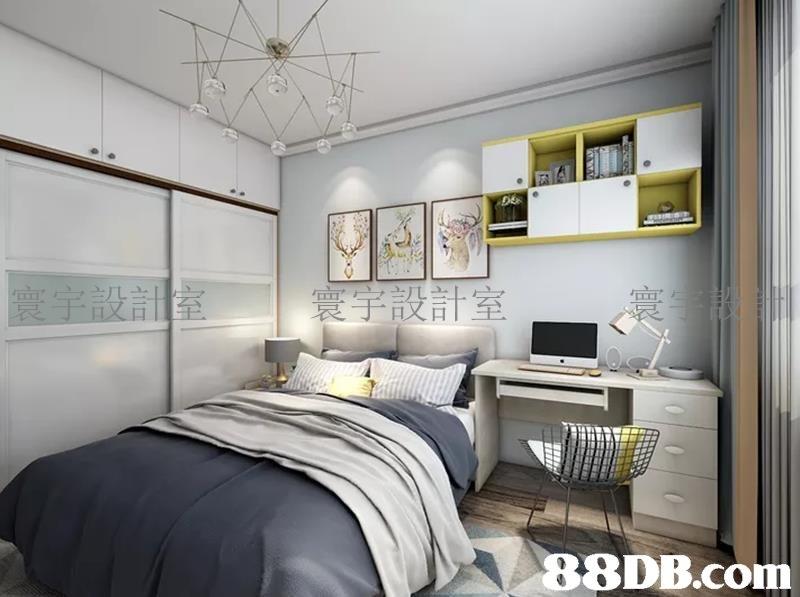 寰宇設計室   Bedroom,Furniture,Room,Bed,Interior design