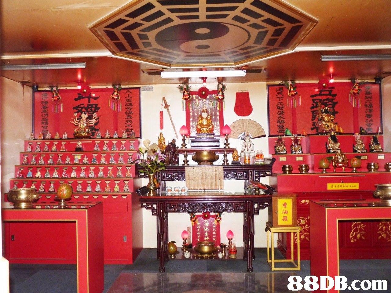 占   Shrine,Place of worship,Building,Temple,Room