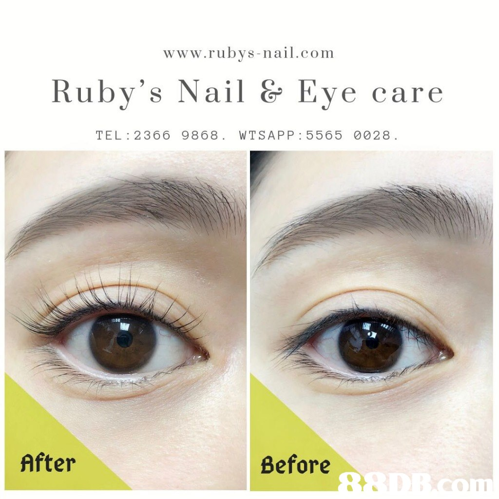 www.rubys-nail.com Ruby's Nail & Eve care TEL 2366 9868. WTSAPP 5565 0028 After Before 1  Eyebrow,Eye,Eyelash,Face,Skin