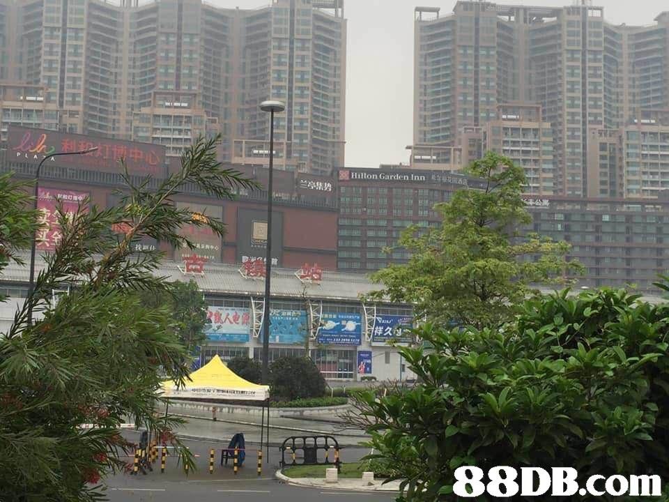 35 Hilton Garden Inn 兰亭集势 E Eu   Metropolitan area,City,Urban area,Building,Skyscraper