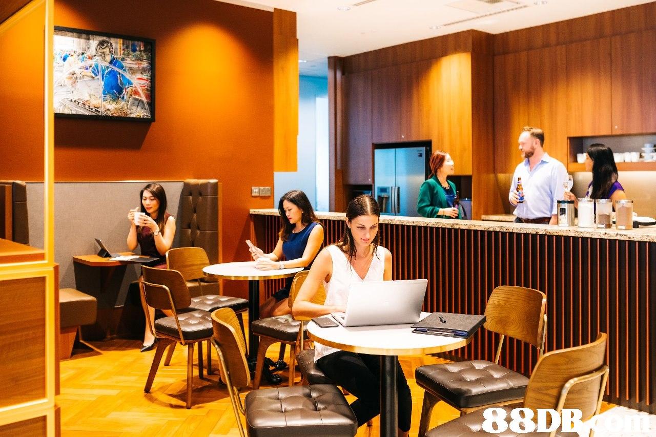 88D  Building,Room,Restaurant,Interior design,Café