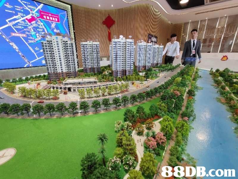 Scale model,Urban design,Condominium,Building,Real estate