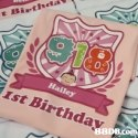 918 Ist Birthday  Text,Pink,Font,Textile