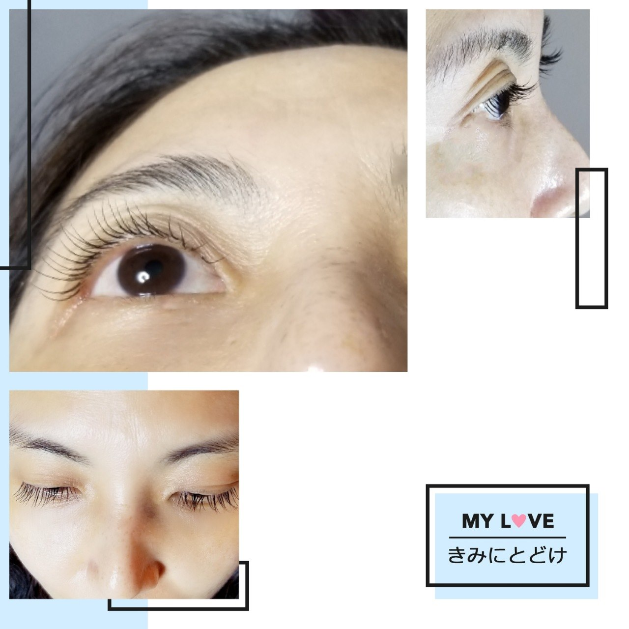 MY L VE きみにとどけ  Eyebrow,Face,Skin,Eyelash,Nose