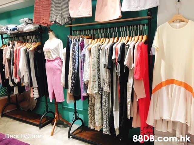 .nk  Clothes hanger,Boutique,Clothing,Room,Closet