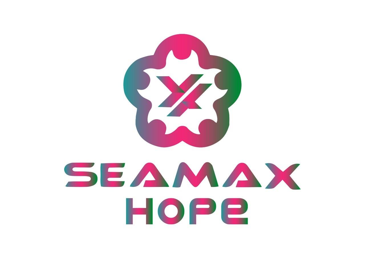 SEAMAX HOPe  Logo,Text,Pink,Graphics,Font