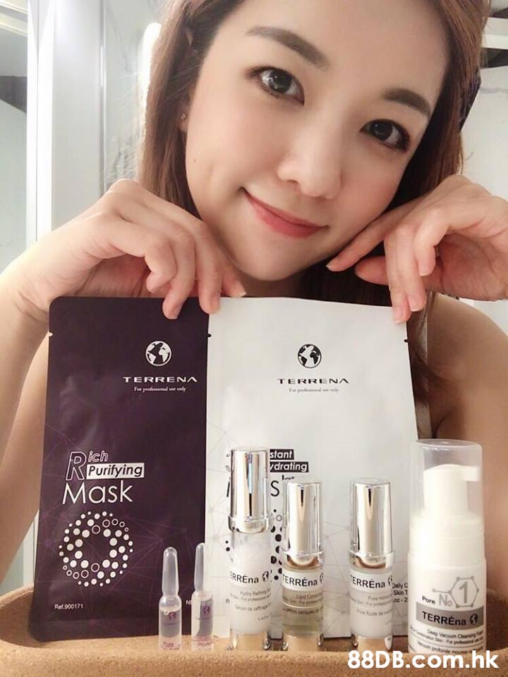 TERRENA TERRENA stant drating ich Purifying Mask SunT TERREna Re 90017 8DB.com.hk  Skin,Product,Face,Eyebrow,Beauty