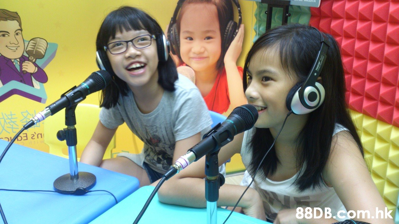 88DB.Com.hk  Audio equipment,Microphone,Technology,Singing,Child