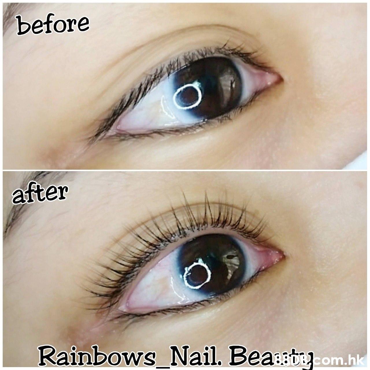 before after Rainbows-Nail. Beast om.hk  Eyebrow,Eyelash,Eye,Face,Skin