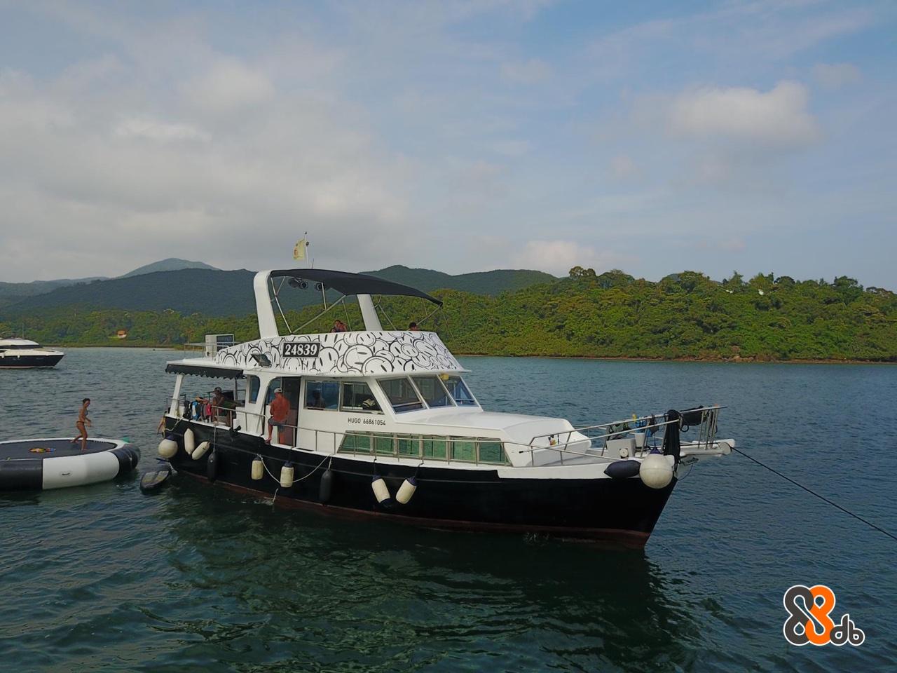 24839 HUGO 66861054  Vehicle,Water transportation,Boat,Watercraft,Pilot boat
