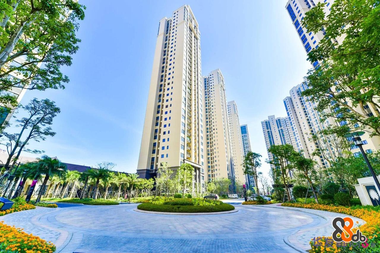Metropolitan area,Condominium,Tower block,Skyscraper,Daytime